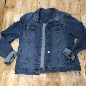 Kut from the Kloth blue denim jacket